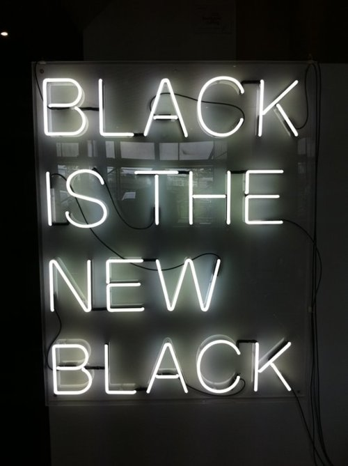 black is the new black black america from a black american